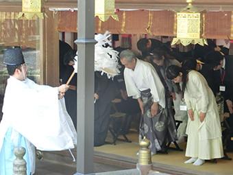 枚岡神社(河内一之宮)奉納朗詠写真2