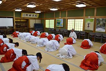 第二回「ご神事お作法研修会」写真2